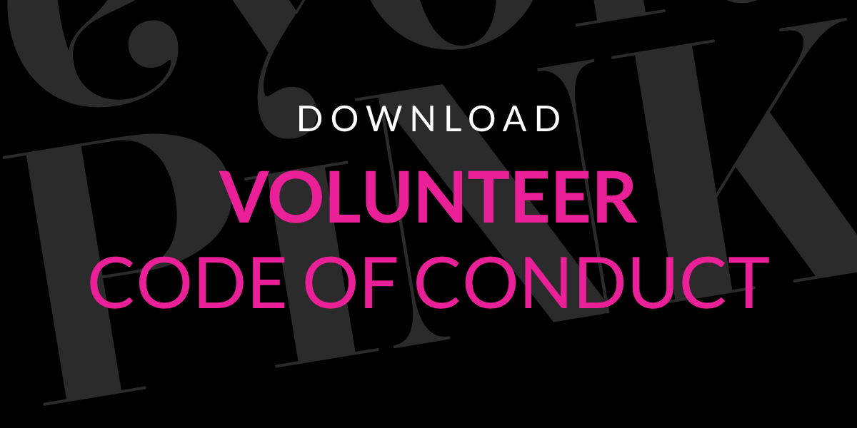 VOLUNTEER CODE OF CONDUCT@2x